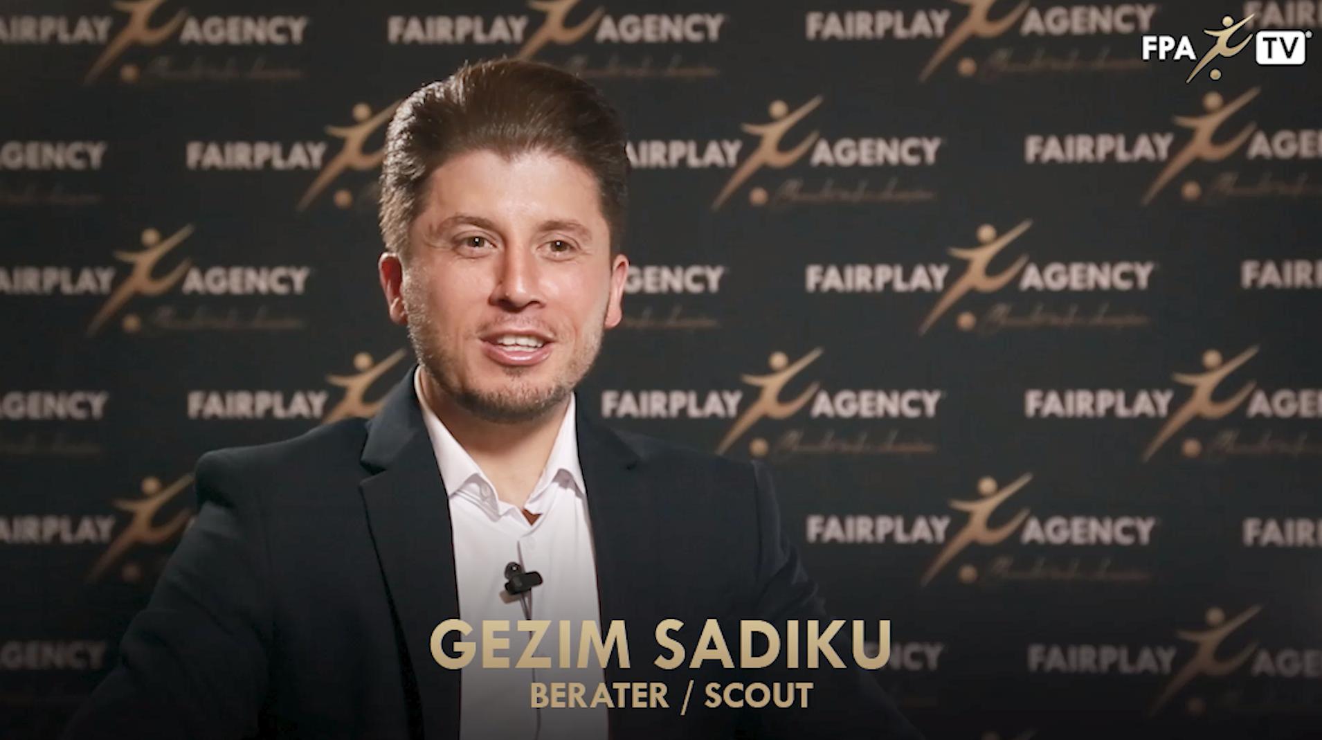 FPA Portrait: Gezim Sadiku, Scout and Agent
