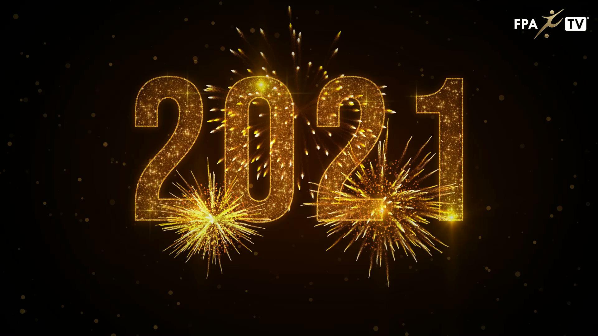 Feliz ano novo! 2021