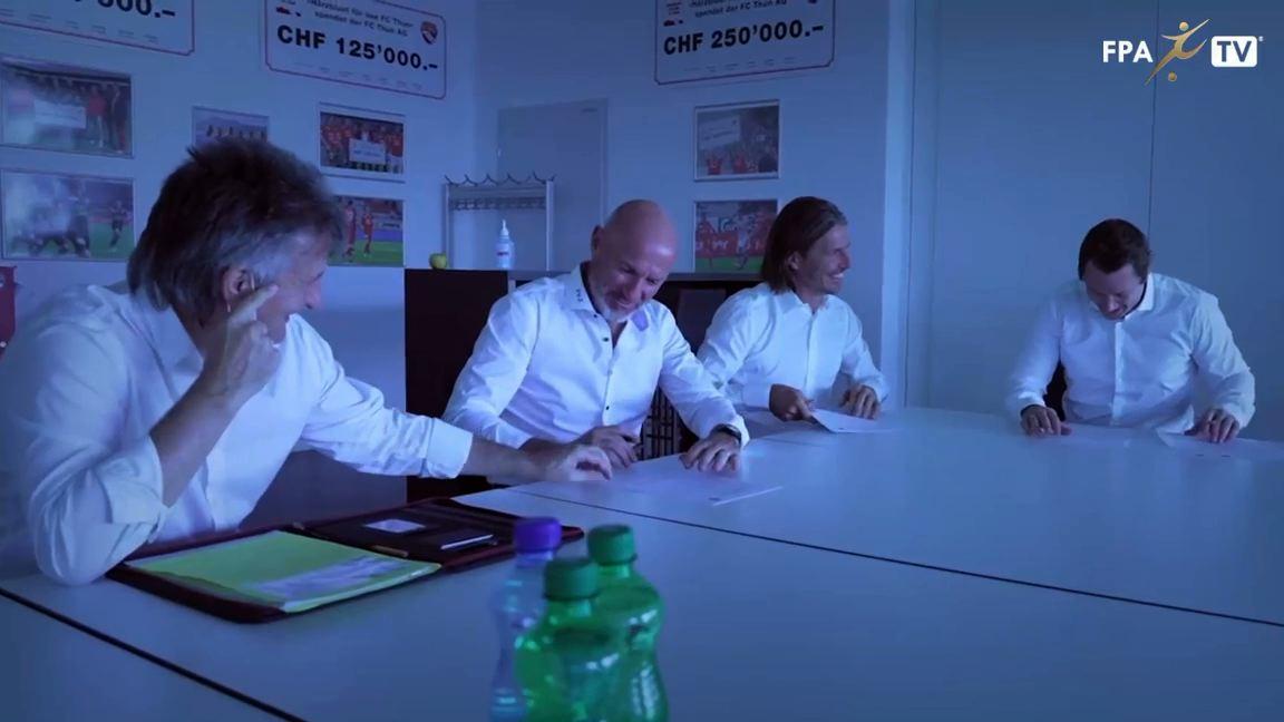 Carlos Bernegger (FC Thun) - Contract extension